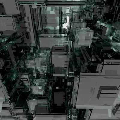 GlassCity01vray